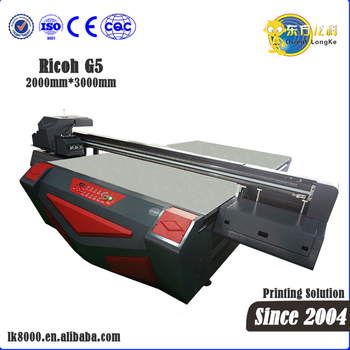 China UV 2030 flatbed integrated wall printing machine MDF sliding door printer