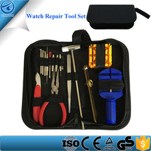 Professional 16 Piece Portable Watch Repair Tool Kit Included Watch Strap Pin Removal Tool Watch Link Opener Tool