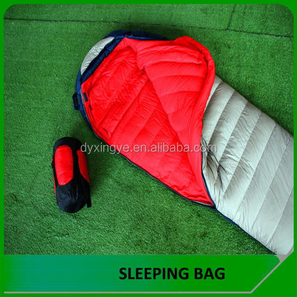 Danyang outdoor mummy ultralight goose down sleeping bag