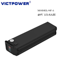 Vicpiwer 48V 13.6Ah 13S4P NCR18650B cells Lithium Battery pack for electric bike