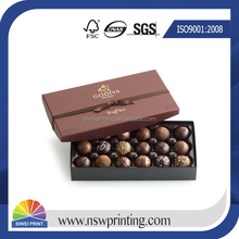 Professional High Quality fancy chocolate paper cardboard box