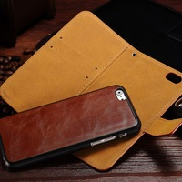 2016 new design for Apple accessories of quality PU leather back 2 in 1 case for Iphone6