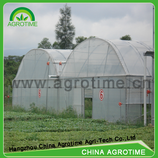 agriculture greenhouse CMR5030 item commercial hoophouse china manufacturer multi span greenhosue