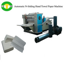 Automatic 3-fold towel paper folding machine