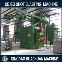 Q37 Rotating Hook Type Shot Blast Cleaning Machine(single/double hook)