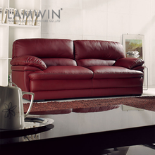 Chinese furniture stores leather sofa wood arms and loveseat for sale