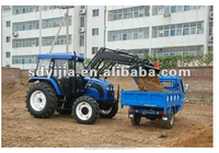 CE cetificated factory supply good quality kubota tractor front loader
