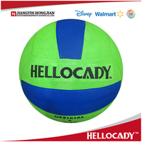2017 HN002 inflatable& deflatable NO.5 rubber netball