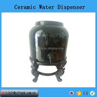 porcelain water dispenser black water crock