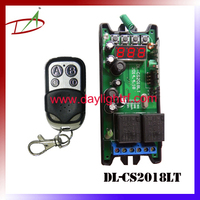 LED display Wireless Digital programmable time extend switch