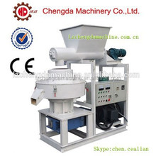 55kw ring die self lubrication wood pellet machine bamboo pelletizer