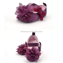 KS40178S Hot sell floral design super cute cheap baby shoes soft sole