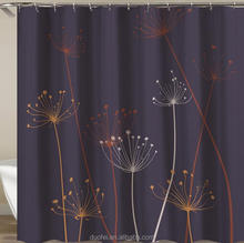 Expensive Elegent Fancy Household Latest Design Dandelion Shower Curtain