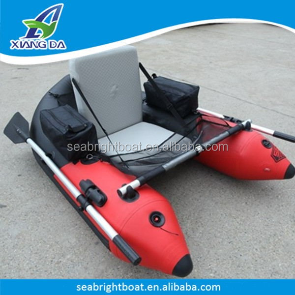 Cheap Easy to Carry Inflatable Float Tube Fishing Belly Boat