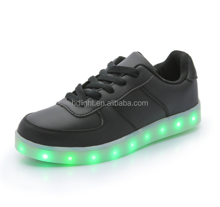 Anpu led wearing scarpe led led flashing shoe light