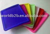 Silicon Skin Cover Case for iPad 3