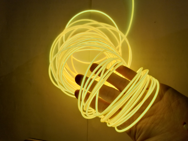 """Polar Light 3"" EL wire with 10 colors/High brightness el wire with 10 colors"