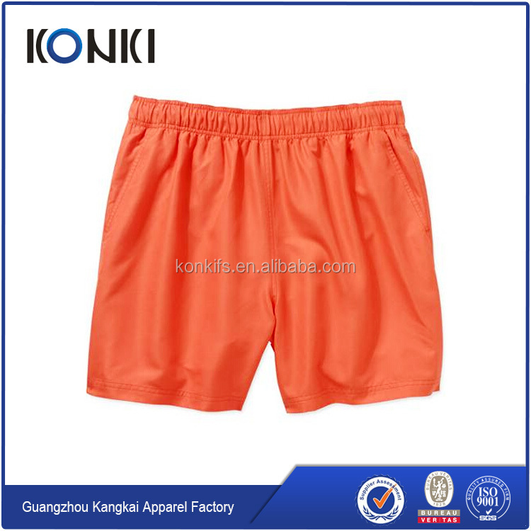 cheap nylon spandex custom wholesale men crossfit shorts