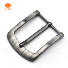BenBao new product 40mm alloy pin belt buckle die casting men's 2 inch garment clip buckles