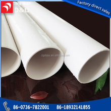plastic PVC Water pipe National Standard PVC pipes and fittings