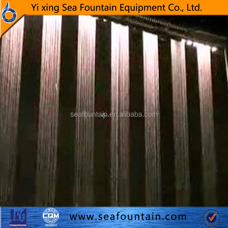 digital water curtain graphic waterfall water fountain