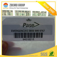 ISO18000 6C EPC Gen2 manufacturer cheap rfid paper tag with uhf chips