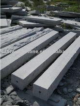 white granite post