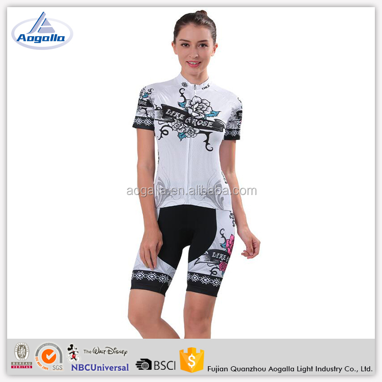 Hot Wholesale Rose Sports Clothing Cycling Wear