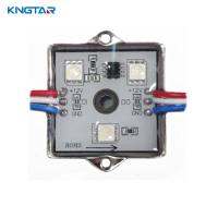 Intelligent 4 LEDs digital waterproof smart rgb led module