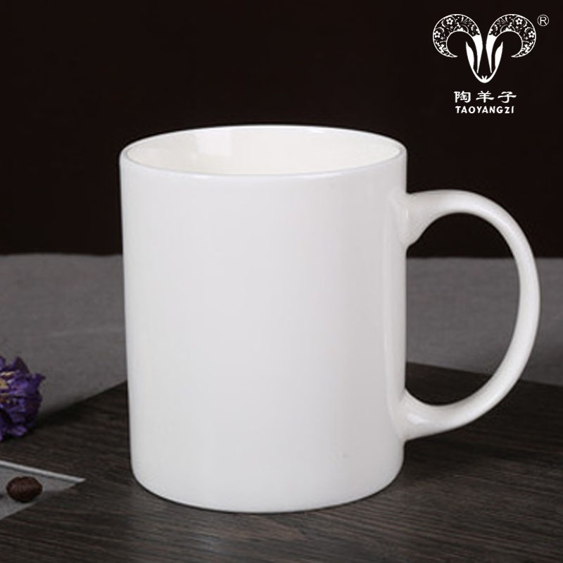 Promotion 16oz eco friendly ware white porcelain coffee mug italian ceramic coffee cups