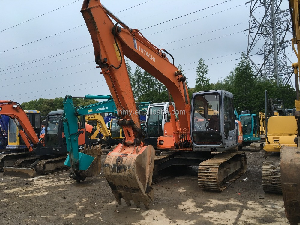 hitachi japan used ex120 excavator for sale in china, LOw PRICE