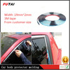Car window trim, car protector window edge trim