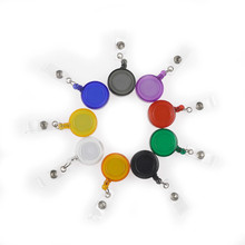 2015 Best Selling Cheapest Colorful fancy waterproof retractable Badge Holder