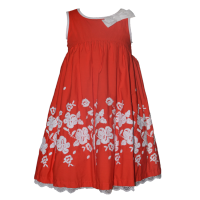 Koti Style Girl Dress Baby Girl Dress in Red Color