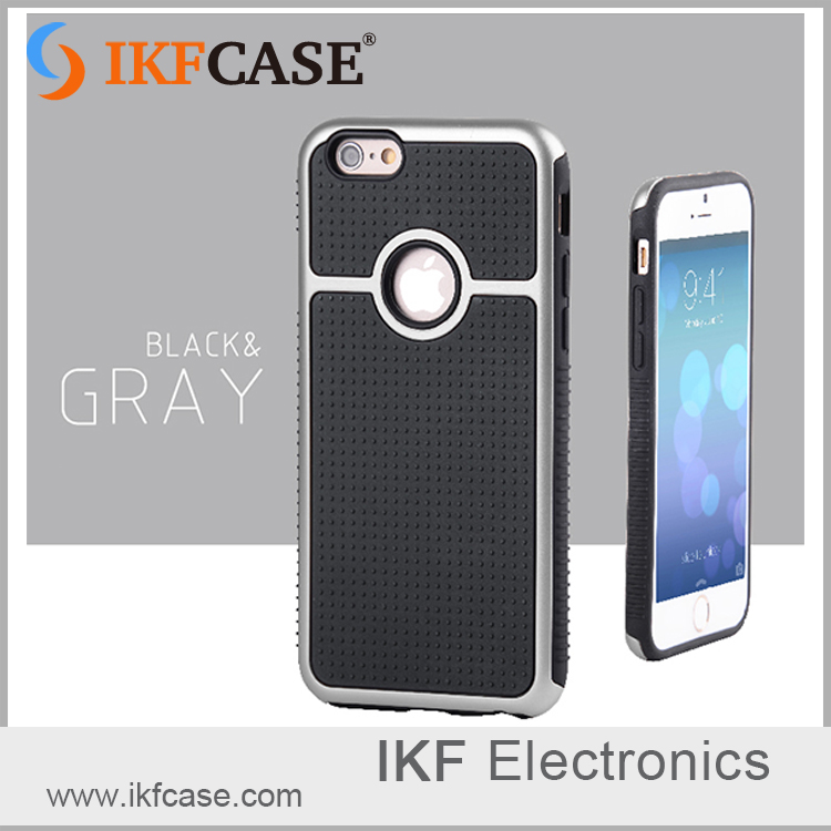 Fashionable TPU and PC cell phone case , shockproof and antislip cover for iphone 6
