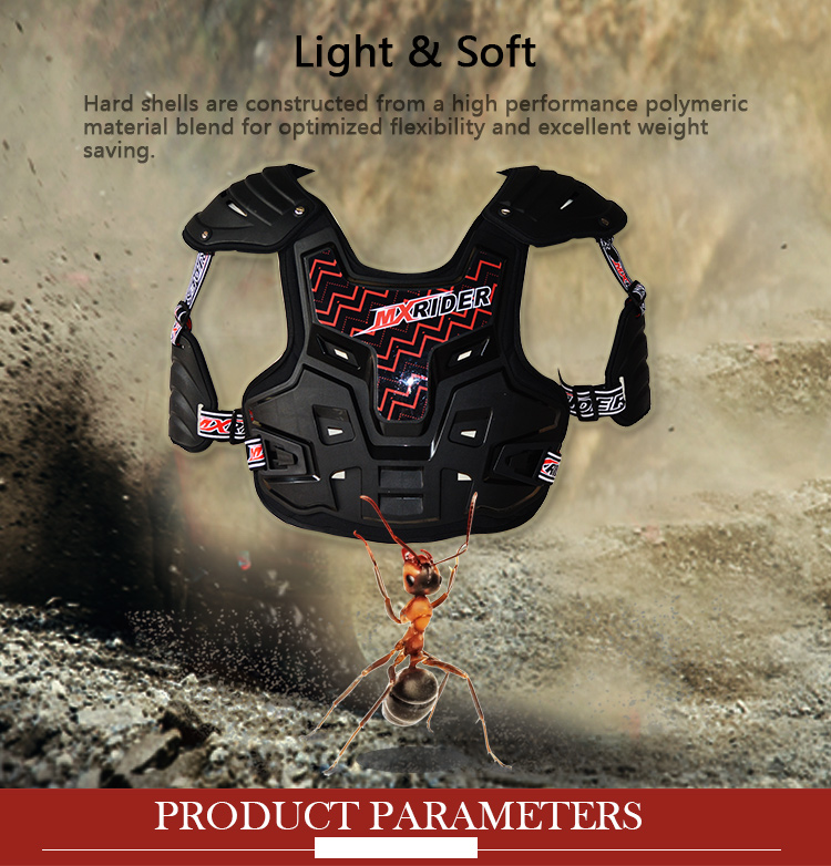 BAV05 CE approved off-road motorcycle body armor motorcycle armor vest motocross chest protector with good price