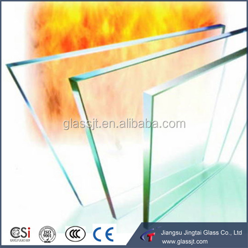 Architecture fireproof glass for sliding doors and windows