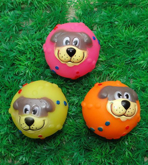 QQ eco-friendly ball shaped anime sex dog toys