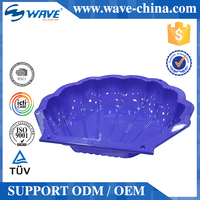 Clam shell swimming pool for kids plastic swimming pools