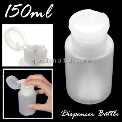 Nail Polish Remover Dispenser /150/200/250ml Alcohol Liquid Press Pumping Nail Polish Remover Dispenser