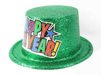 Promotion glitter Party top hat toys, carnival hat toys for wholesale, GD004551