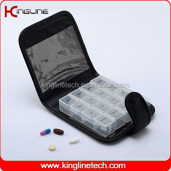 PU pill box (KL-9055)