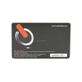 ISO 14443a cr80 pvc plastic rfid nfc smart card / 13.56 mhz hf passive contactless card