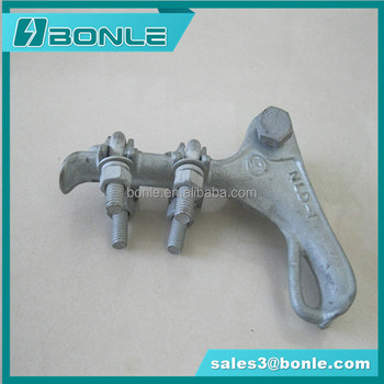 High Strength NLL Power Hardware / Pole Line Hardware / Strain Clamp