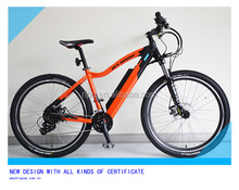 27.5 mountain electrical bicycle mountain e bike full suspension e bike TDA1602L