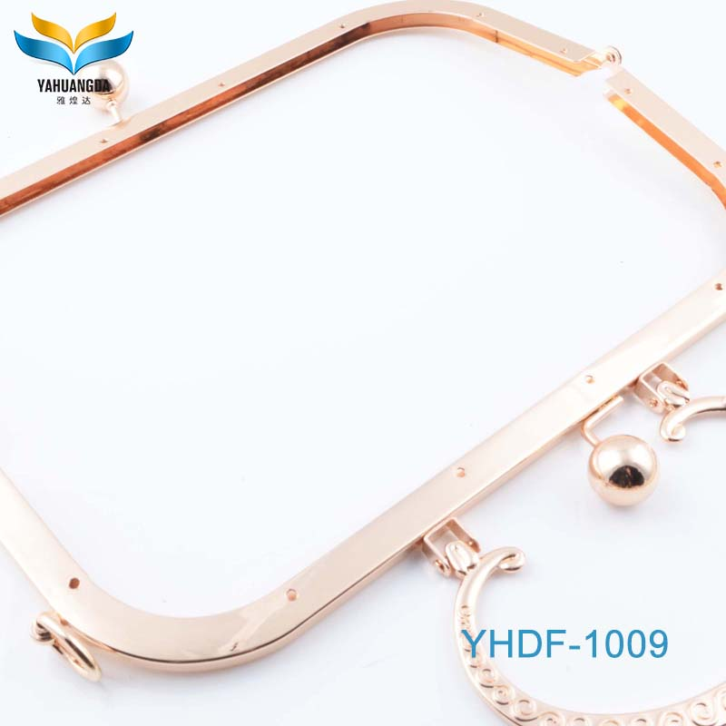 factory price low wholesale FREE Shipping handbag metal box clutch frame