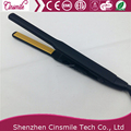 Nano keratin narrow tourmaline plate design hair straightener for long lasting fast heat up
