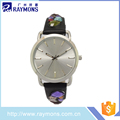 China manufacturer 100% leather strap watches with high quality
