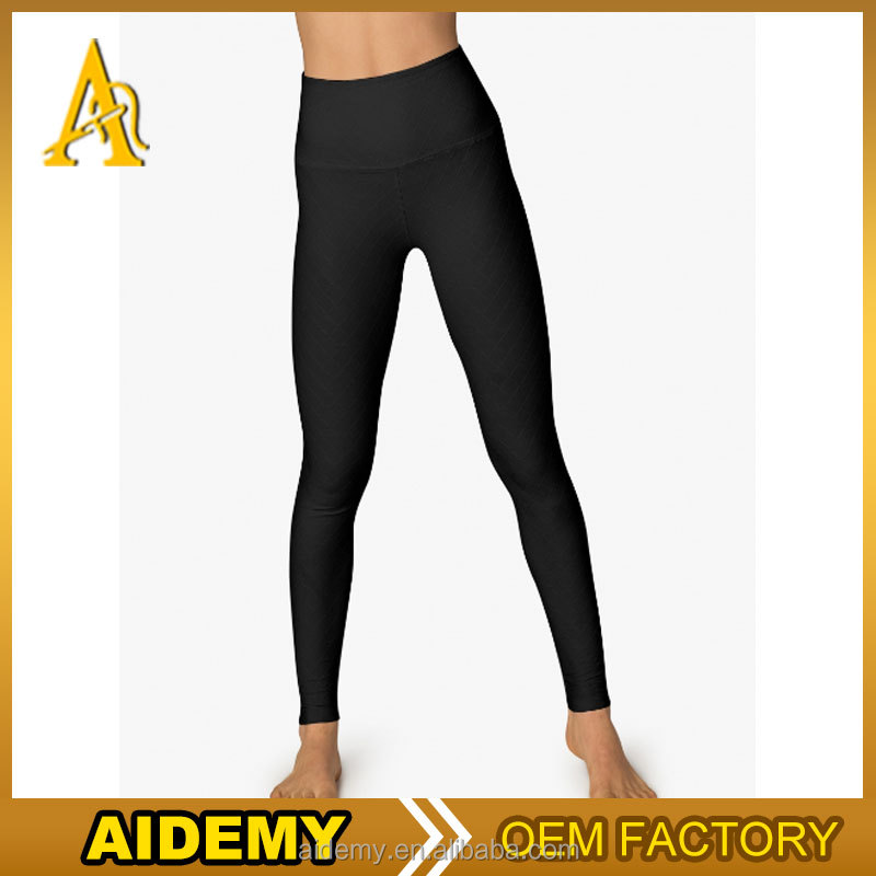 Wholesale high waist nylon spandex Womens Gym Exercise Fitness Yoga Running Sport Leggings