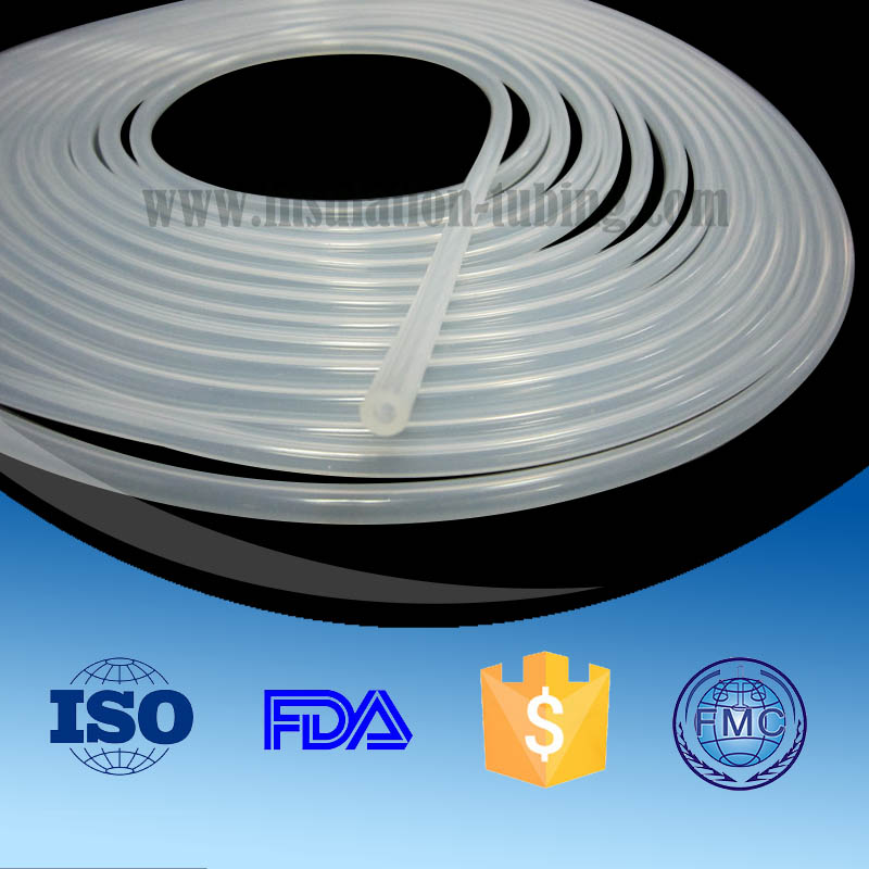 Flexible Transparent Silicone Rubber Tube Semi-Rigid Silicone Tubing